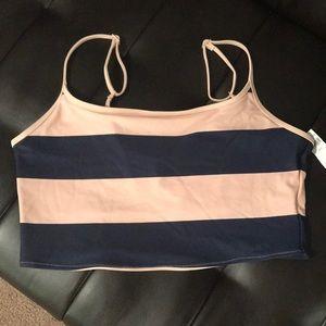 Aerie bandeau bikini top size XL NWT